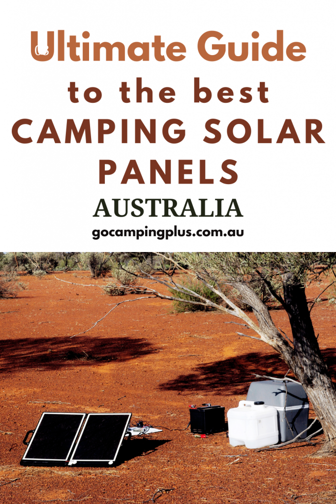 The best camping solar panels Australia.